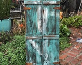 Reclaimed Wood - Jewelry Armoire - Organizer - Organization - Wall Unit - Wooden Cabinet - Jewelry Holder - Necklace Holder - 40 x 18 x 4.5