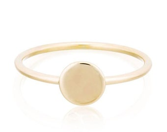 Cosmo Ring, 14K Gold Ring, Gift for Her, Made to Order in 3-5 days