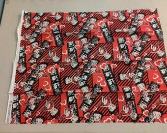 Betty Boop Fabric  247876