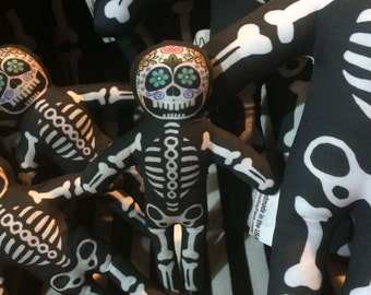 Mini Sugar Skull baby plush