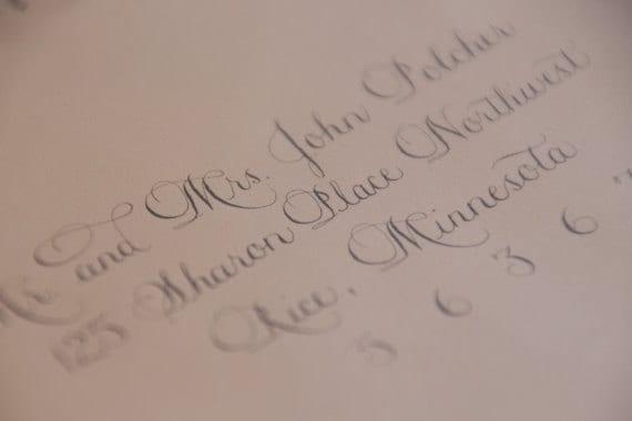 Wedding calligraphy Sarah2 font