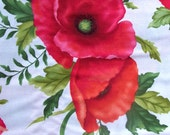 Poppy Panache by Ann Lauer of Grizzly Gulch Gallery for Benartex LLC - 1/2 Yard and Fat Quarters     02-2017