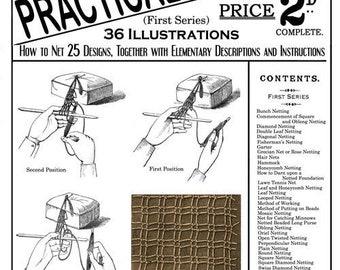 Weldon's 2D #21 c.1886 - Practical Netting (PDF E Book - Digital Download)