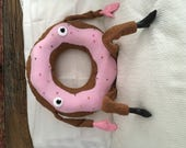 Pink Donut Man Plush