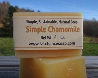 Simple Chamomile Soap