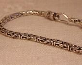 Sterling Byzantine Bracelet Bali Bracelet Sterling Bali Byzantine Bracelet Sterling Jewelry  Sterling Bracelet Sterling Silver Bracelet 925