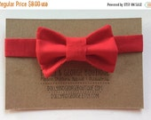 50% OFF SALE Red Soft Velcro Infant/Toddler Bow Tie 468628498