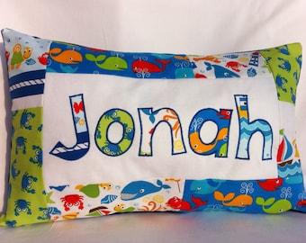 Ocean Friends - Personalized Pillow