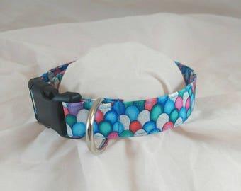 Glitter Scales Dog Collar, Glitter Scales Cat Collar