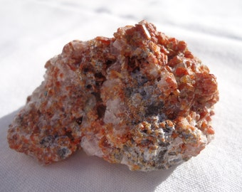 Vanadinite, Grounding, Creativity, Discipline,Stamina, Root Chakra, Sacral Plexus, Solar Plexus, 3rd Eye,