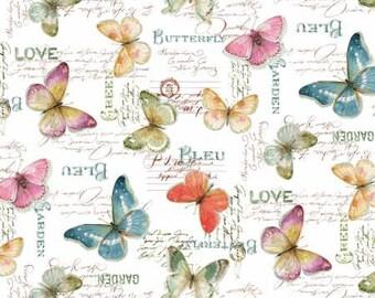 Rainbow Seeds, White Butterflies