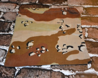 Desert Camo Drawstring Bag