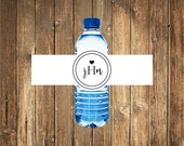 Wedding Water Bottle Labels, Personalized Water Bottle Labels, Wedding Welcome Bag Water Labels, Weatherproof Label