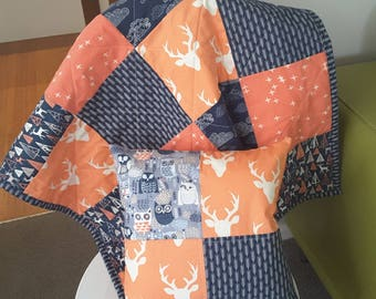 Baby Quilt, baby blanket, play mat, baby shower gift