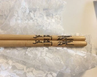 Vintage Signature Sticks , John Riley,  Zildjian Selected Hickory Concert Jazz Artist Series Drumsticks