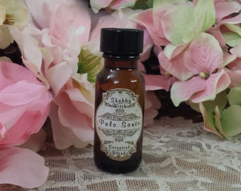 Palo Santo Oil, Holy Wood, Ritual Oil,  Spiritual  OIl