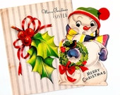 Vintage Christmas Cards ~ C4
