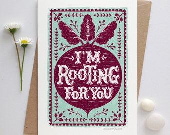 Good Luck Card | Encouragement Card | Positive Vibes Card  | Luxury Greetings Card | Fine Art Card | Motivation Card | Exams Card |