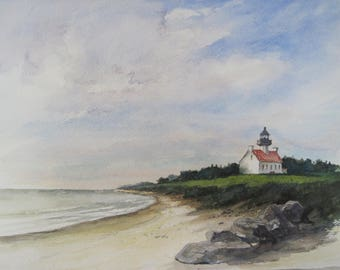 East Point Lighthouse on the Delaware Bay