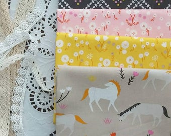 Stay Gold by Aneela Hoey Fat Quarter Bundle - Custom Bundle - Handcut