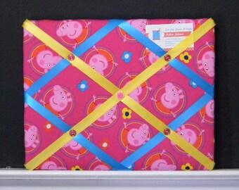 11 x 14 Nick Jr. Peppa Pig in Circles Memory Board