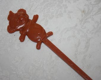 Vintage Trader Vic's Menehunes Drink Swizzle Stick,