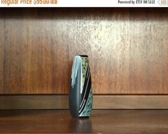 SALE 25% OFF vintage 1960s søholm burgundia vase - holm sørensen - svend aage jensen - made in denmark