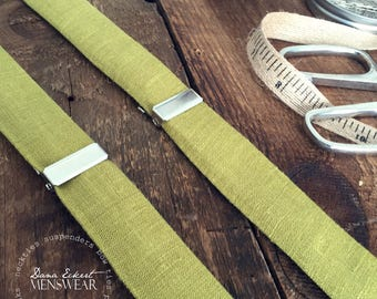 o a s i s  linen | SUSPENDERS