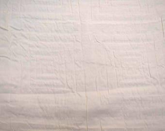 White Squares Fabric