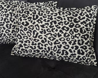 LEOPARD PRINT Pillow cover 18 x 13