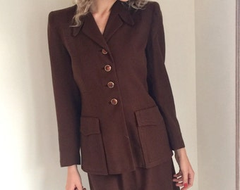 1940s ladies suit | Etsy