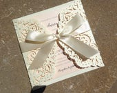 Custon order for Pamela - Invitations, Table Numbers and Signs
