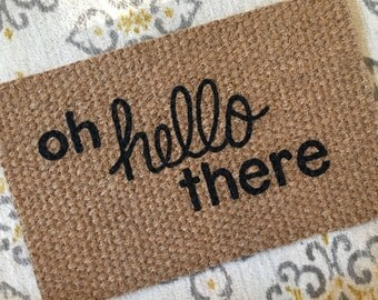 Oh hello there, Welcome Mat!  Quirky and adorable doormats for fun people!