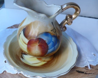15 Year Anniversary Gift, Pitcher and Bowl, Fruit Pitcher, Wedding Anniversary