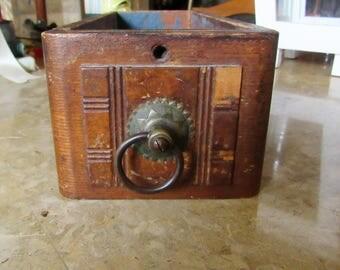 Vintage Sewing Machine Drawer, Wood Drawer, Sewing Machine Drawer, Sewing Box, Home and Living, Home Decor, Sewing Drawer,