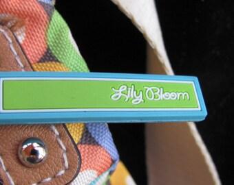 Lily Bloom Multicolor Shoulder Bag with Adjustable Strap