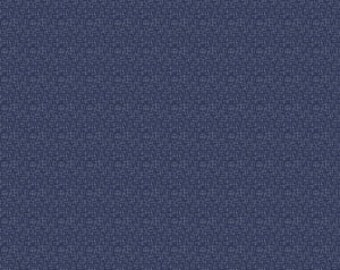 Hash Tag Small in Navy - 1 yard -  by RBD Designers for Riley Blake Designs.