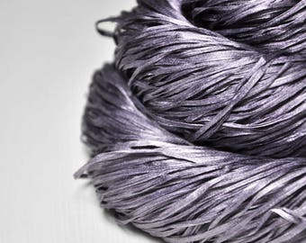 Withering lupin - Silk Tape Lace Yarn - SUMMER EDITION
