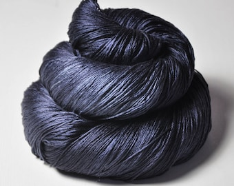 Drowning in the deep blue sea -  Silk Lace Yarn - LSOH