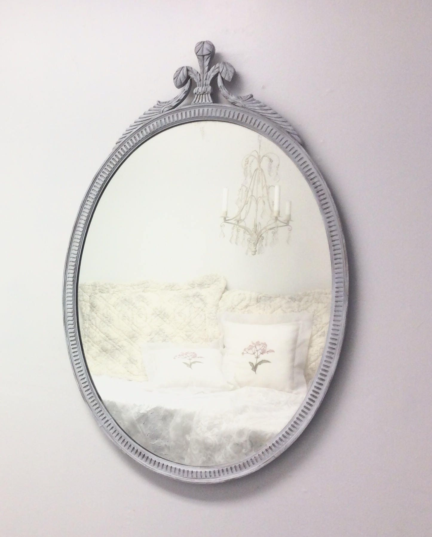 Vintage framed mirrors for sale large oval antique framed for Large wall mirrors for sale