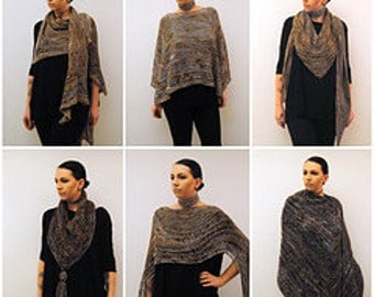 The Metallurgy Collection ~ E-book Collection of Shawl Designs Knitting Patterns PDF