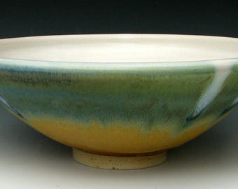 CERAMIC BOWL #15 - Stoneware Bowl - Serving Bowl - Fruit Bowl - Ceramic Serving Bowl - Studio Pottery