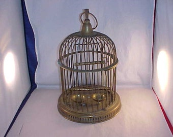 Solid brass Birdcage Made In India