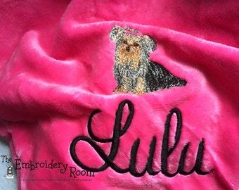 Yorkie - Dog Blanket -Plush and Cozy