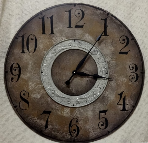 30 Inch Large Classic Wall Clock With Arabic Numbers And