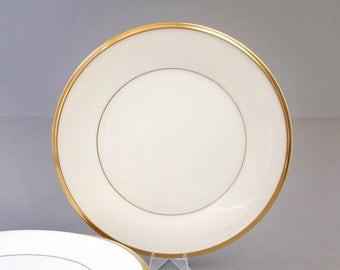 Vintage Lenox Eternal Salad Plates Set of 6