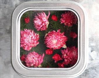 Flower Magnet, Fridge Magnet, Nature Magnet, Nature Art, Kitchen Garden, Nature Wedding Favor, Kitchen Art, Flower Kitchen Art