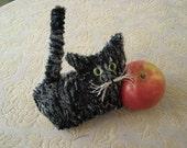 Charcoal Tabby  Plush Kitten