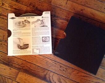 Vintage Sawyer's Rotary Slide Tray Projector Gaf
