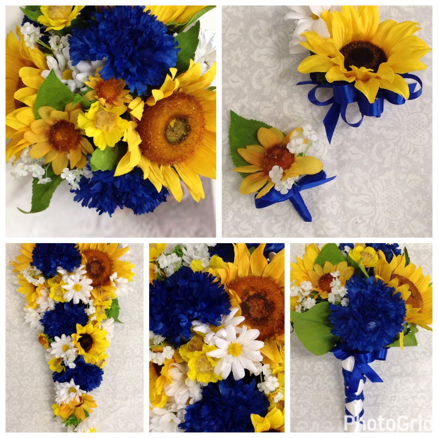 Sunflower Country Wedding Flowers